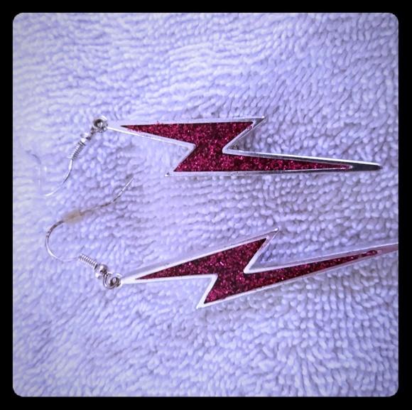 Jewelry - Lightning bolt earrings